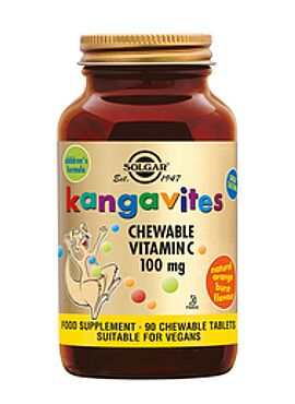Kangavites Chewable Vitamin C 100 mg 90 kauwtbl