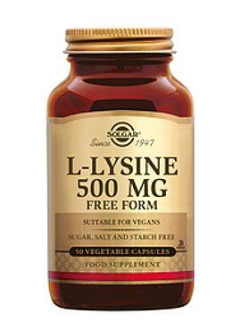 L-Lysine 500 mg 50 vcps
