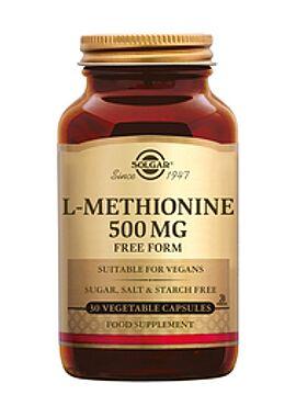 L-Methionine 500 mg 30 vcps