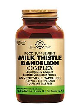 Milk Thistle/Dandelion Complex  60 vcps
