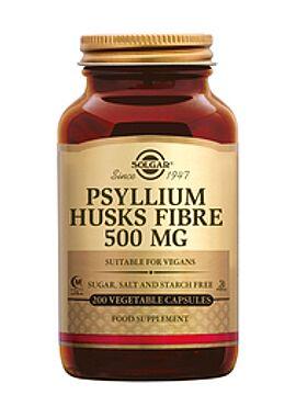 Psyllium Husks Fibre 500 mg 200 vcps