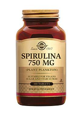 Spirulina 750 mg 100 tbl