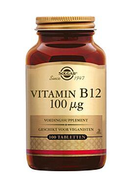 Vitamin B-12 100 µg 100 tbl