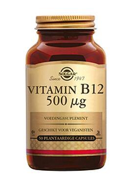 Vitamin B-12 500 µg 50 vcps