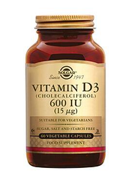 Vitamin D-3 600 IU/15 µg