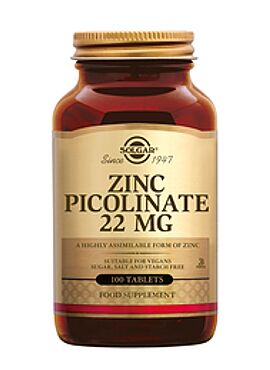 Zinc Picolinate 22 mg 100 tbl