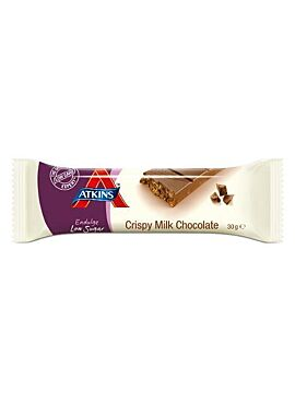 Atkins Endulge Crispy Milk Chocolate reep 30g
