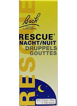 Rescue nacht 10ml (druppels)