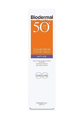 Biodermal  zonnefluide gezicht matterend 50spf