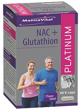 NAC+ Glutathion 60 caps