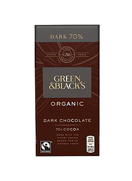 G&B Chocolade 70% 90g