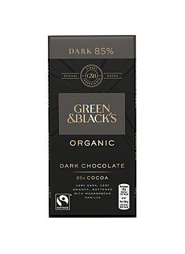 G&B Chocolade 85% 90g
