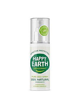 Happy earth deodorant 100% natural spray 100ml
