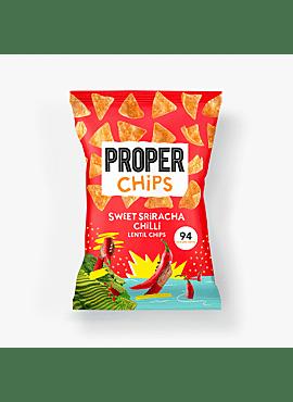 Linzenchips sweet sriracha chili 85gr.