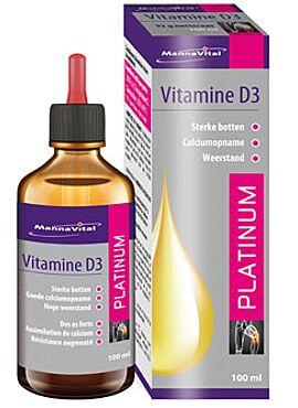 Vitamine D3 Platinum druppels 100 ml