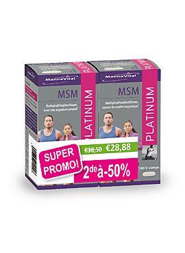 MSM platinum Duo pack