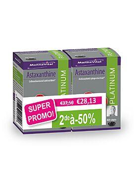 Astaxanthine Platinum DUO pack