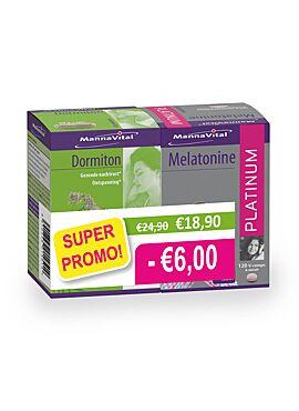 PROMOPACK Dormiton & Melatonine platinum