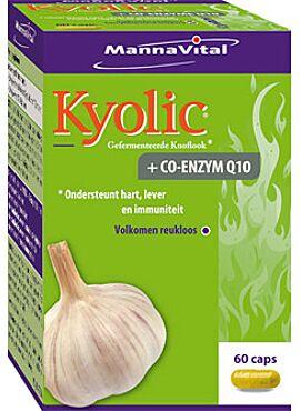 Kyolic gefermenteerde knoflook + Q10 60 caps