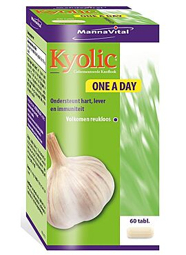 Kyolic Gefermenteerde Knoflook One a Day 60tabl.