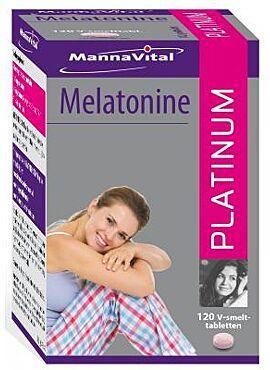 Melatonine Platinum 120 V smelt tabl,