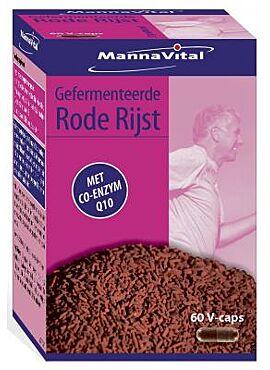 Gefermenteerde rode rijst + Q10 60 cps
