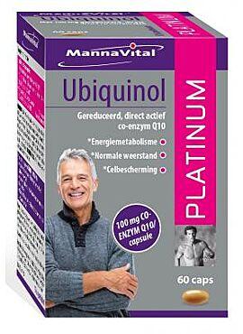 Ubiquinol Platinum Q10 100mg 60cps
