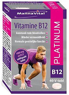 Vitamine B12 Platinum 60 V-tabl