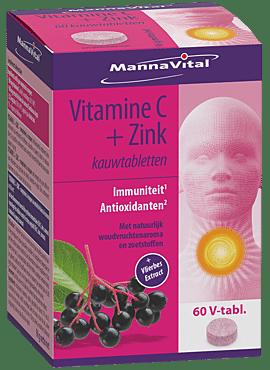 Vitamine C + Zink 60 kauwtabl.