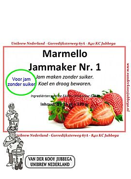 Marmello 1 - Geleermiddel voor confituur zonder suiker 120g