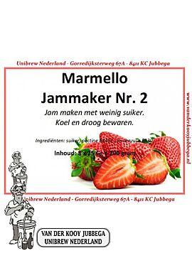 Marmello 2 - Geleermiddel voor confituur met weinig suiker  8x25g