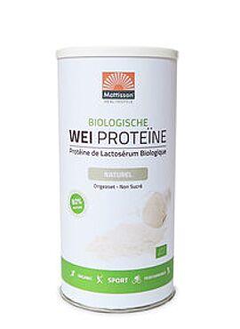 Wei Proteïne Poeder naturel bio 450g