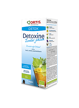 Detoxine (zonder jodium) appel 250ml