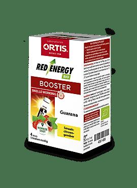 Red Energy citroen/gember bio booster 4*15ml