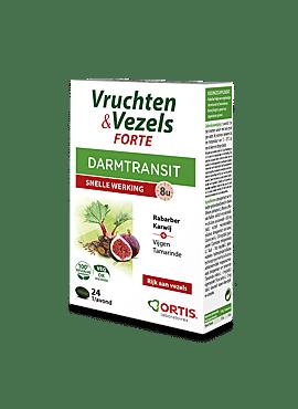 Vruchten & vezels Forte 24 tabletten