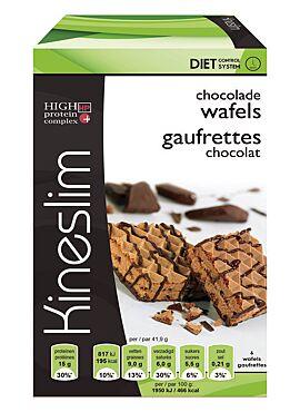 Wafels chocoladesmaak 3x2 st