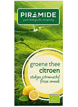 Groene thee citroen 20b