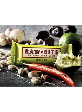 Raw Bite Energybar Spicy Lime 50g