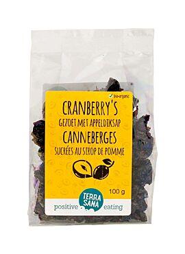 Cranberries (met appeldiksap) 100g