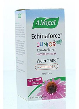 Echinaforce Junior + vit C  80 kauwtabletten