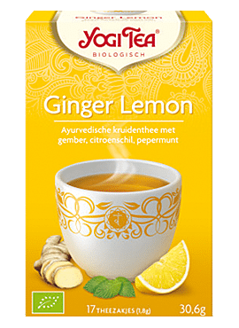 Yogi Ginger Lemon 17b