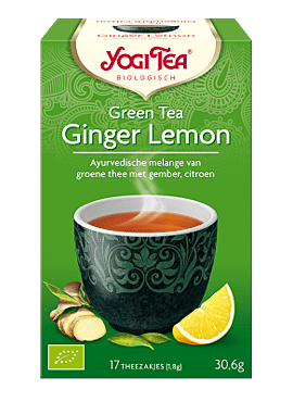 Yogi Green Tea Ginger Lemon 17b