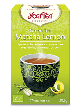 Yogi Green Tea Matcha Lemon 17b