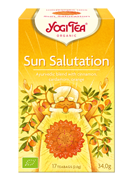 Yogi Sun Salutation 17 builtjes