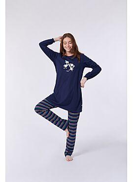 Woody Meisjes-Dames Pyjama