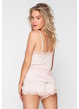 LingaDore Pastel Rib Pyjamashort