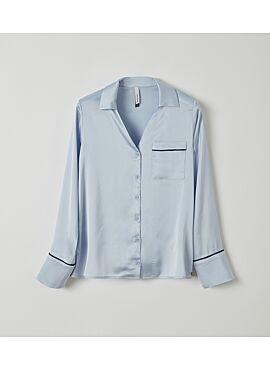 Lords & Lilies Dames Pyjama Lichtblauw