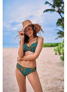 Rosa Faia Palm Safari Delia Bikini Top