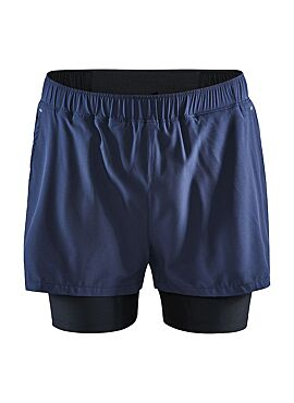 CRAFT ADV ESSENCE 2-IN-1 SHORTS M