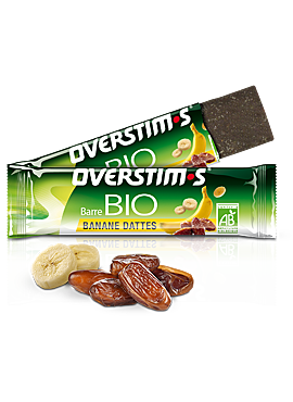 OVERSTIMS Bio Bar zonder gluten Banaan Dadels